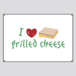 Grilled Cheese Heart Banner