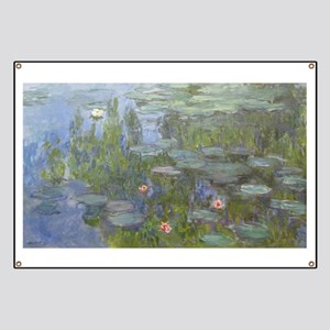 Claude Monet's Nympheas Banner