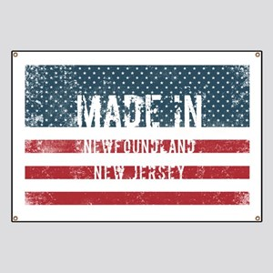 Made in Newfoundland, New Jersey Banner