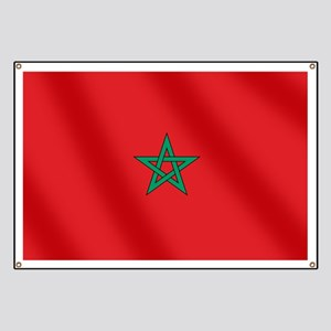 Flag of Morocco Banner