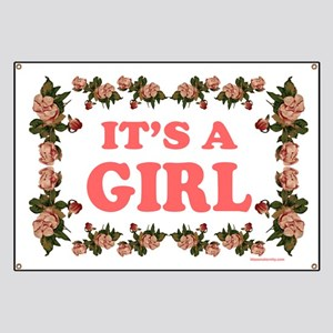 729e0b120 Its A Girl Banners - CafePress