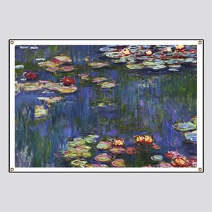 Claude Monet Water Lilies Banner