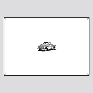 Old GMC pick up Banner