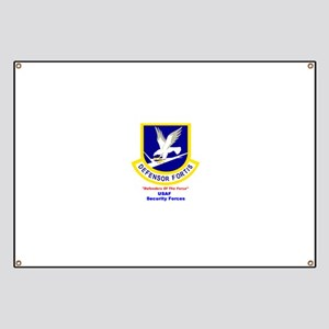 Security Forces Banner