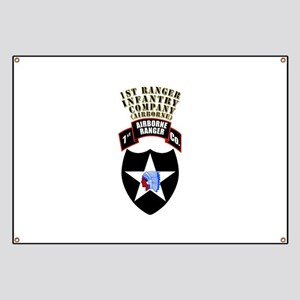 SOF - 1st Ranger Infantry Co - Abn Banner