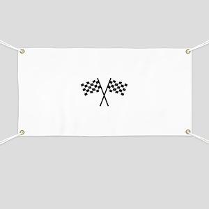 Racing flags Banner