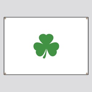 green shamrock irish Banner