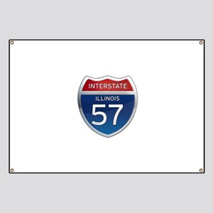 Interstate 57 - Illinois Banner