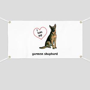 German Shepherd Love Banner