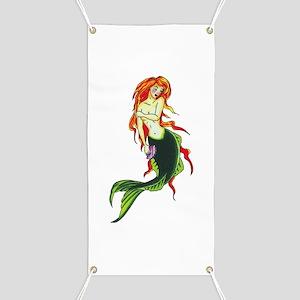 Mermaid Tattoo Banner