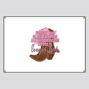 Cowgirl princess Banner