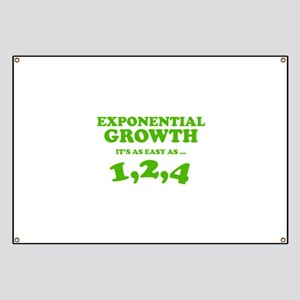 Exponential Growth Banner