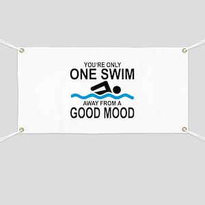schwimmen Banner