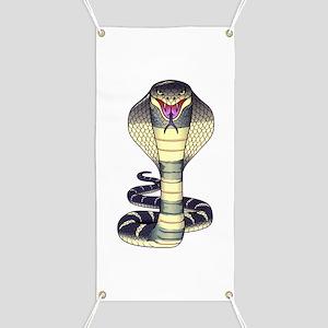Cobra Snake Serpent Tattoo Banner