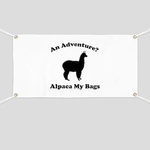An Adventure? Alpaca My Bags Banner