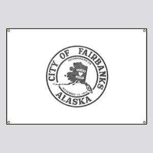 Vintage Fairbanks Alaska Banner