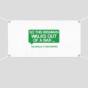 Irishman Banner