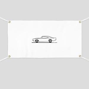 1969 Dodge Charger Banner