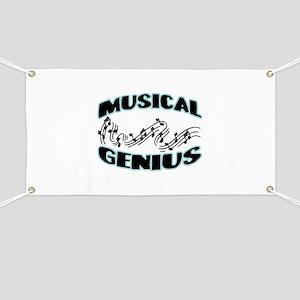 Musical Genius Banner