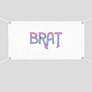 Brat Banner