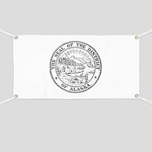 Vintage Alaska State Seal Banner
