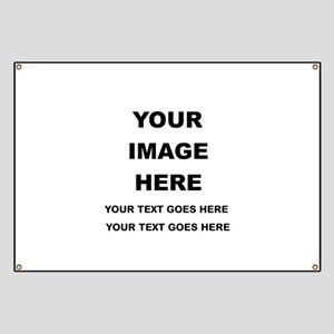 Your Photo and Text Here T Shirt Banner