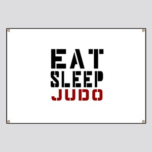 Eat Sleep Judo Banner