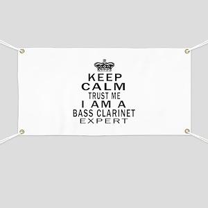 I Am Bass Clarinet Expert Banner
