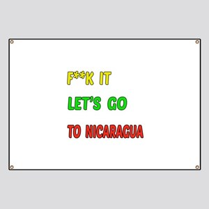 Let's go to Nicaragua Banner