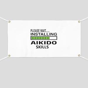 Please wait, Installing Aikido skills Banner