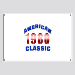 American Classic 1980 Banner