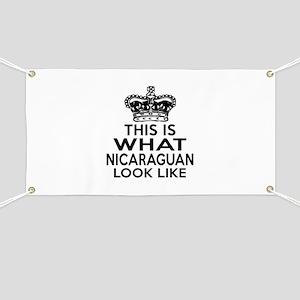 I Am Nicaraguan Banner
