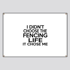 Fencing It Chose Me Banner