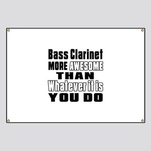 Bass Clarinet More Awesome Banner