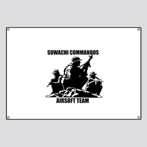Suwachi Commandos Airsoft Team Banner