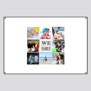 Custom Family Photo Collage Banner