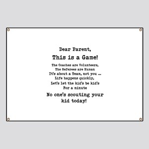 Dear Parents Banner