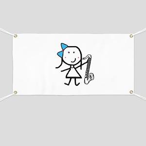 Girl & Bass Clarinet Banner