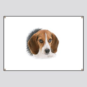 Beagle Close Up Banner