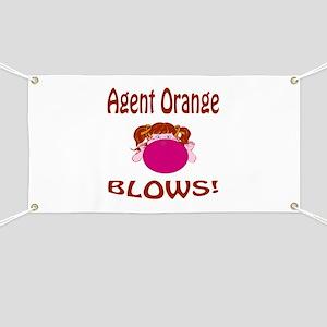 Agent Orange Blows! Banner
