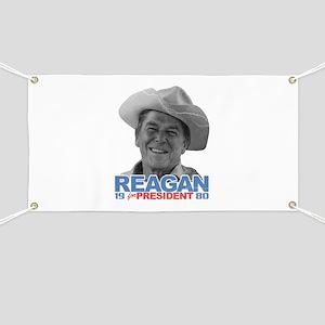 Reagan 1980 Election Banner