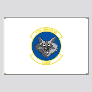 175th Fighter Squadron Banner