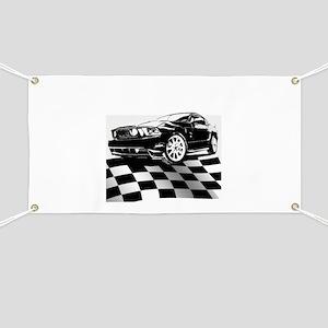 2011 Mustang Flag Banner