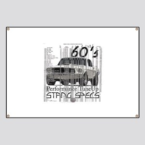 60'S Mustang Specs Banner