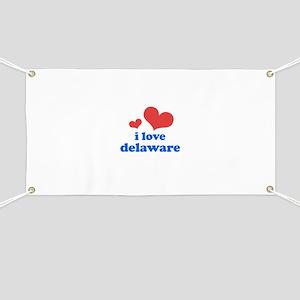 I Love Delaware Banner