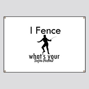 I Fence Banner