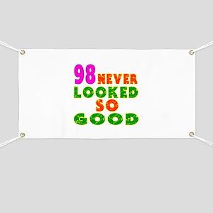 98 Birthday Designs Banner