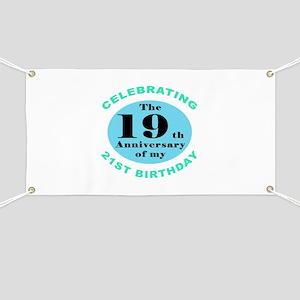 40th Birthday Humor Banner