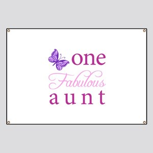 One Fabulous Aunt Banner