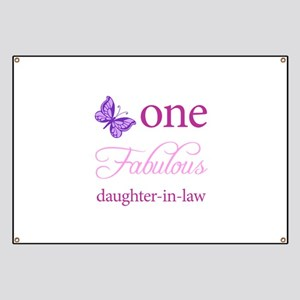 One Fabulous Daughter-In-Law Banner